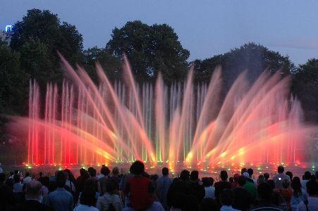 Wasserlichtkonzert Planten Un Blomen Foto Im Hamburg Web