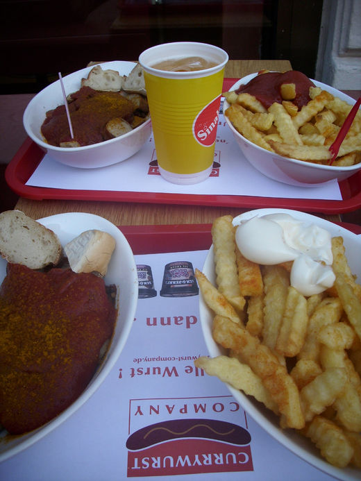 Currywurst Menu