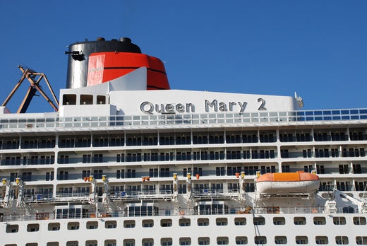 Decks der Queen Mary 2
