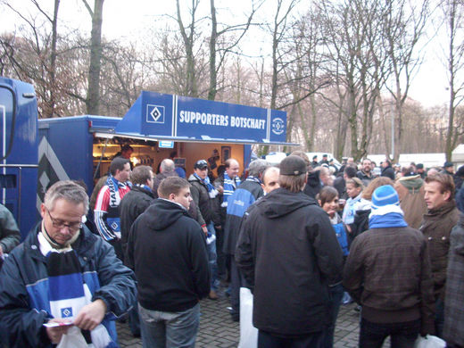 Supporters Botschaft in K�ln