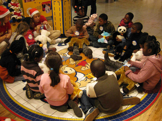 Arche Hamburg bei Build a Bear
