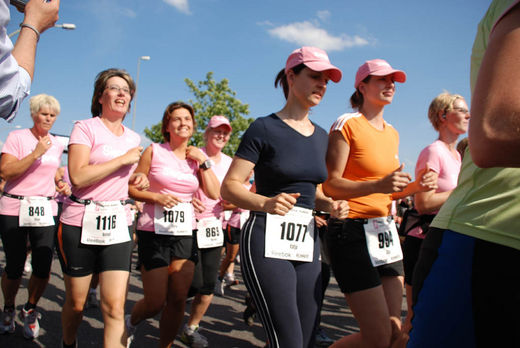 Stimmung beim Womens Run in Hamburg