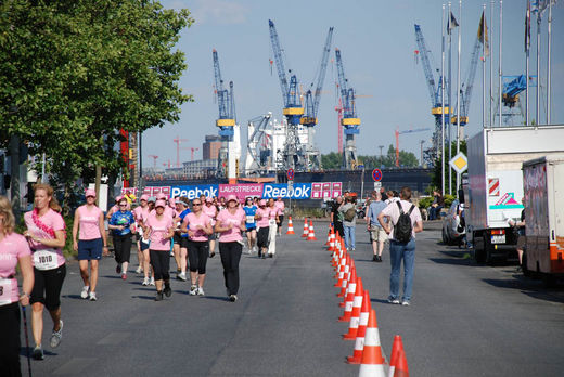 Womens Run am Hafen