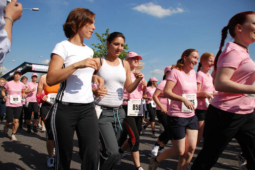 Sportlerinnen beim Womens Run