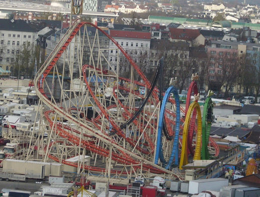 Looping Bahn Hamburger Dom