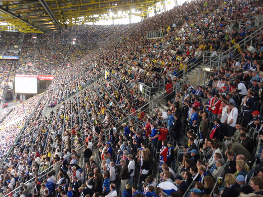 HSV Fans in Dortmund