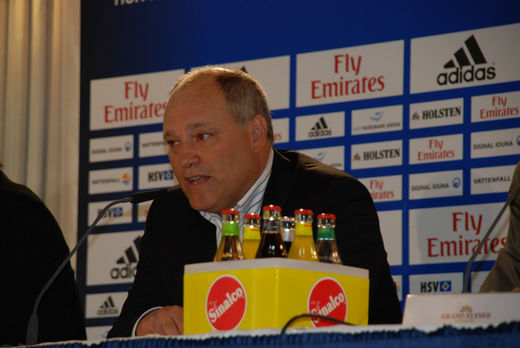 Martin Jol in Hamburg