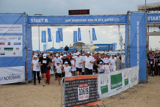 Start zum HSH Nordbank Run