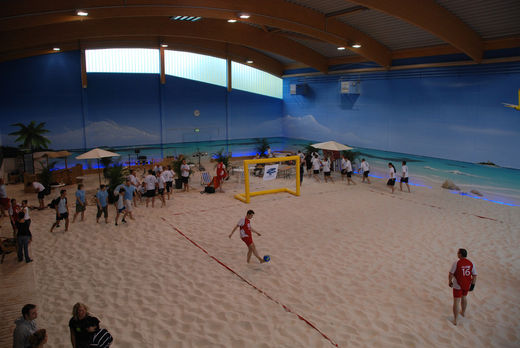 Indoor Court Beach Center Hamburg