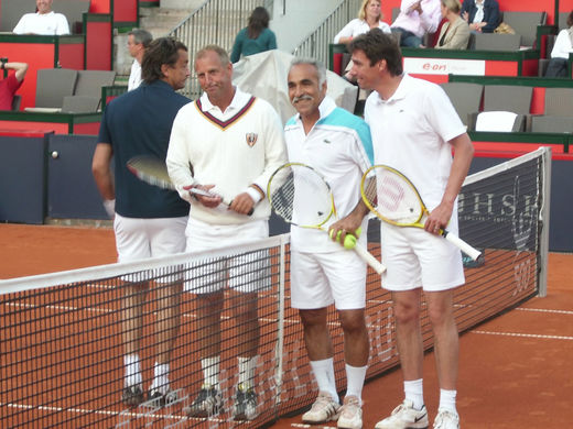 Legenden Doppel am Rothenbaum