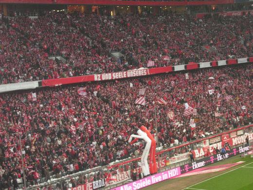 Allianz Arena Südtribüne