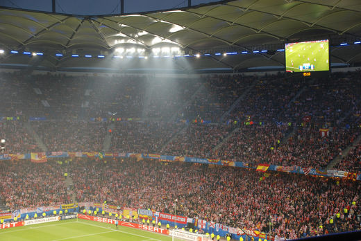 Atletico Madrid Fans beim Europa League Finale