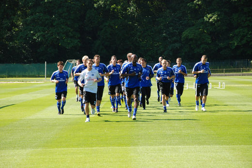 Start in die Trainingssaison beim HSV