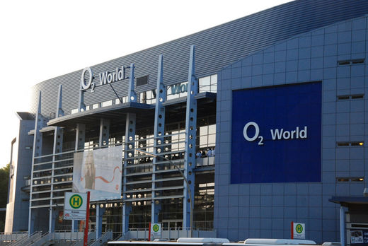 O2 World im Volkspark Hamburg