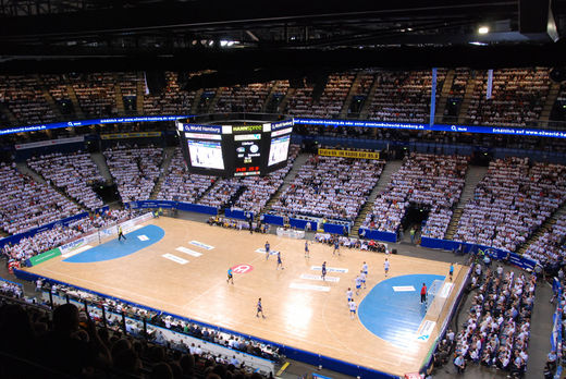 Handball O2 World