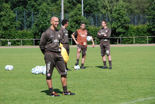 Trainer André Schubert