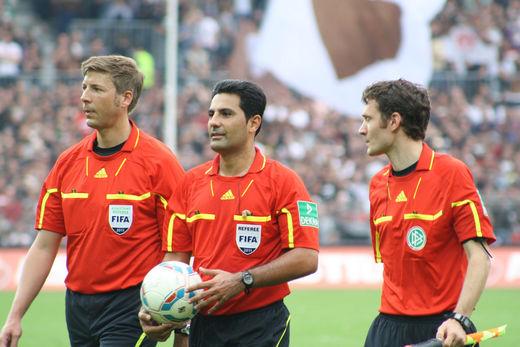 Babak Rafati und sein Team