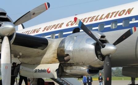 Triebwerke der L-1049F Super Constellation
