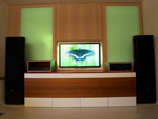 tv wand mit hifi m bel foto im hamburg web. Black Bedroom Furniture Sets. Home Design Ideas