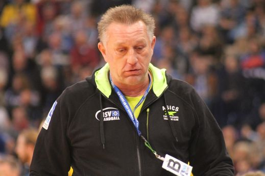 HSV-Trainer Michael Biegler