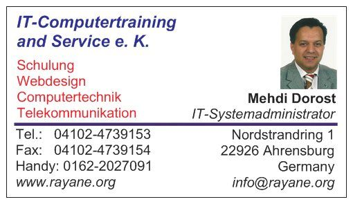 IT- Computertraining and Service