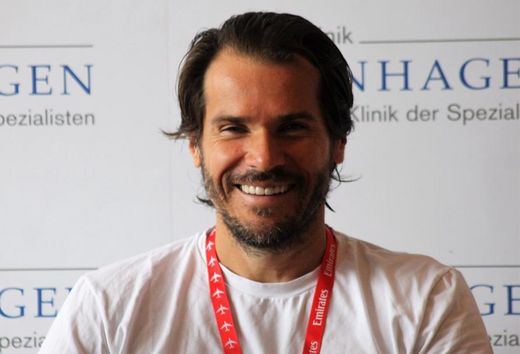 German Open 2017 - Tommy Haas gut gelaunt