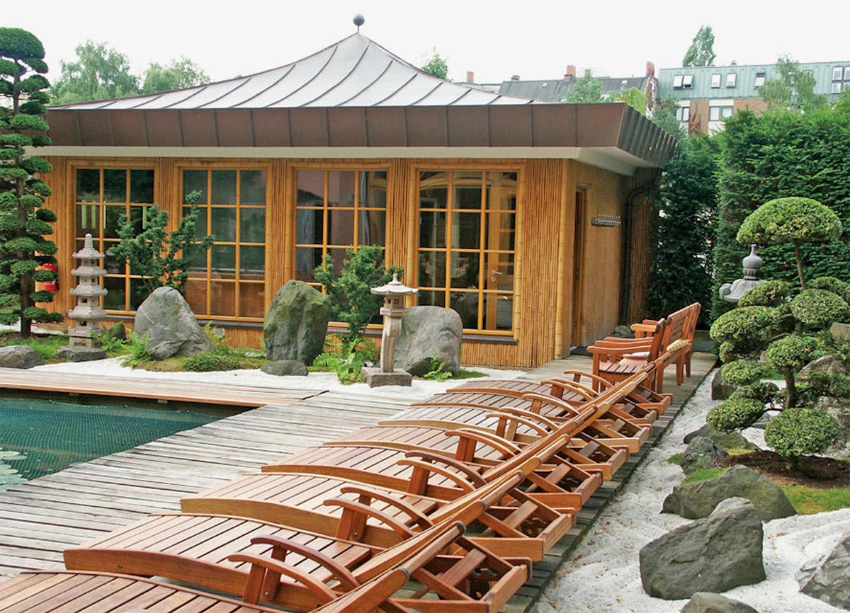 Japanischer Garten Meridian Spa Eppendorf Foto Im Hamburg Web