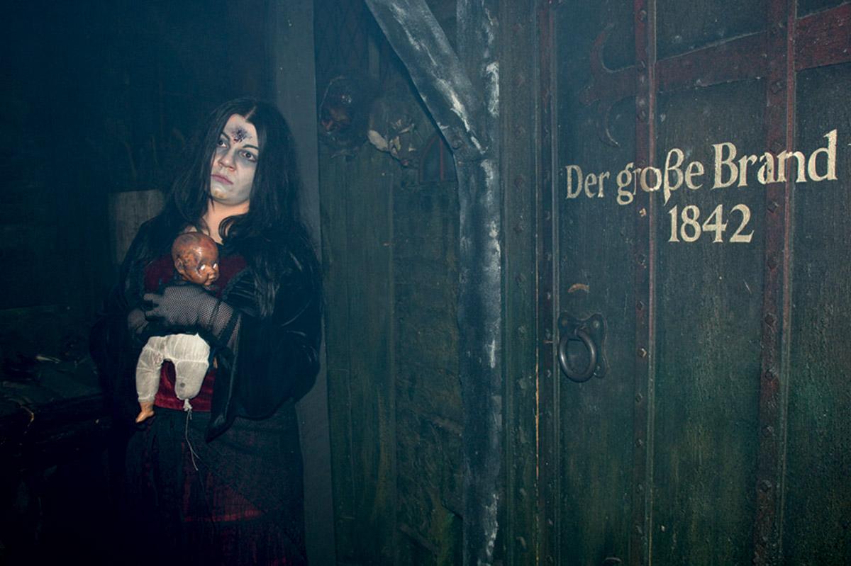 Der grosse Brand im Hamburg Dungeon - Foto im Hamburg Web