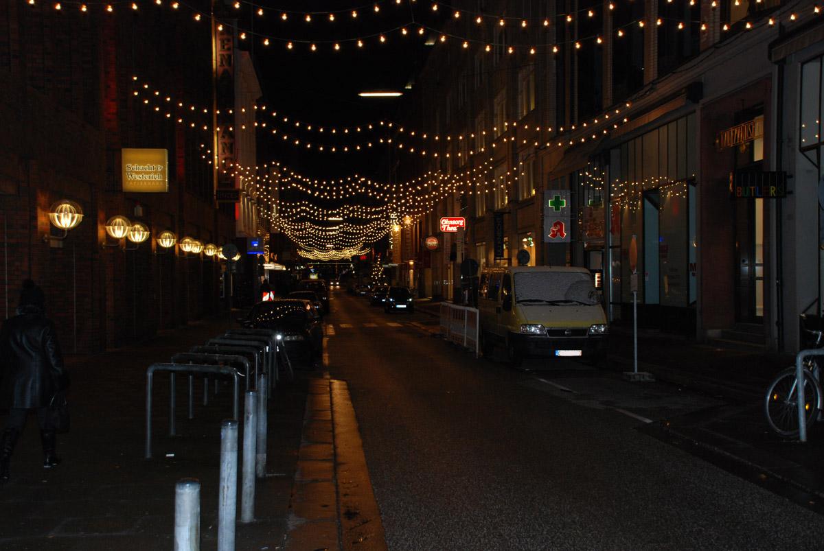 Weihnachten in Große Bleichen - Foto im Hamburg Web