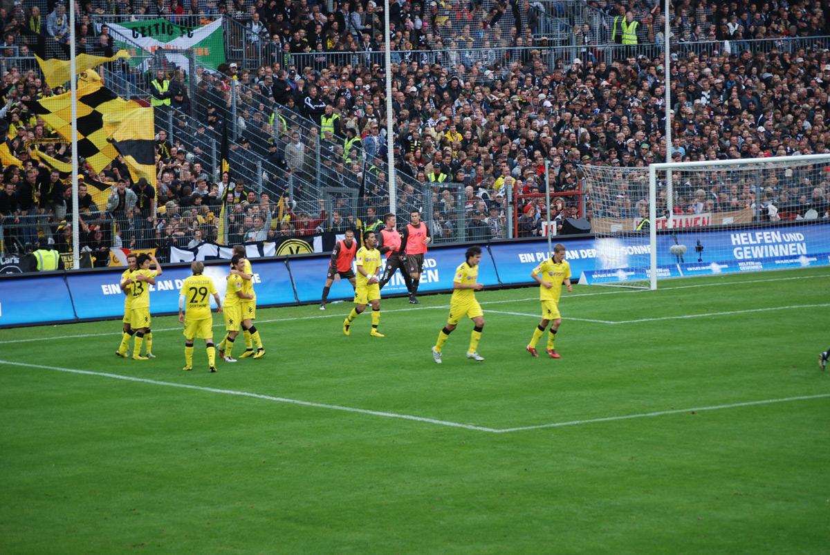 St Pauli Spielstand