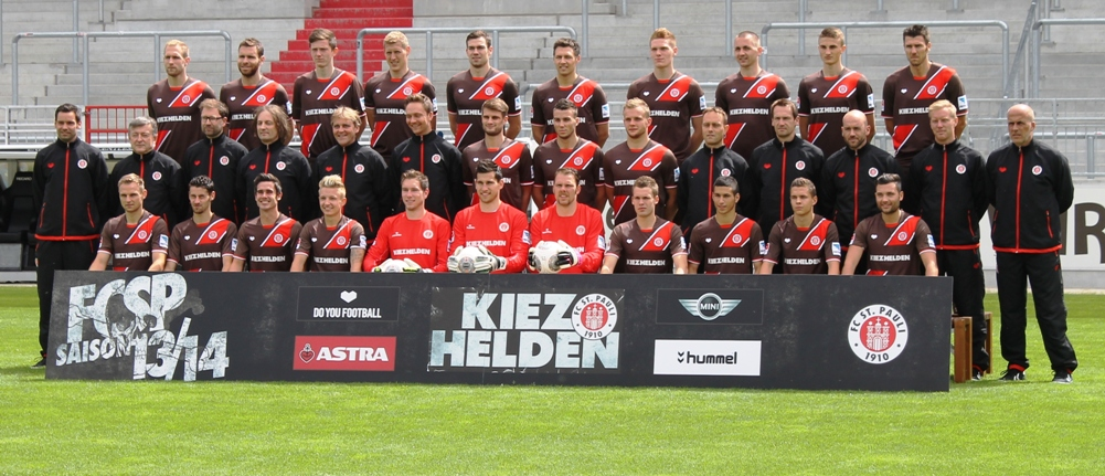 St Pauli Team