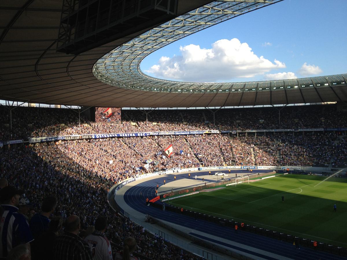 Ostkurve Olympiastadion Berlin