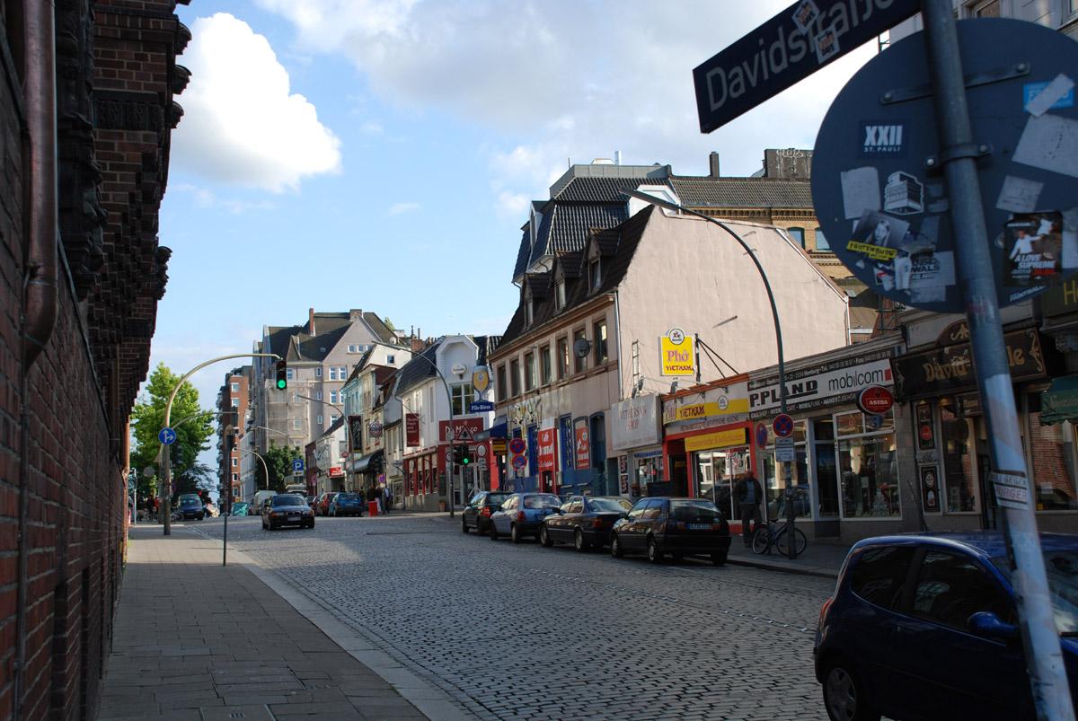 davidstrasse hamburg