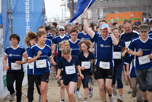 Laufteam HSH Nordbank Run Universitätsklinik Eppendorf