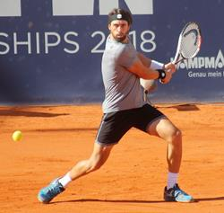 German Open-Sieger Nikoloz Basilashvili Georgien