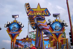 Airwolf auf dem Hamburger Fr�hlings-DOM