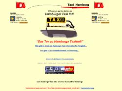Das Tor zu Hamburg´s Taxiwelt