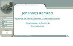 Johannes Kamrad Fachkraft für Arbeitssicherheit