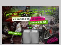 Den mutigen gehört die WeltDen mutigen gehört die Welt Werbung und Marketing GmbH