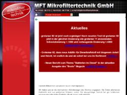 Mikrofiltertechnik Geesthacht