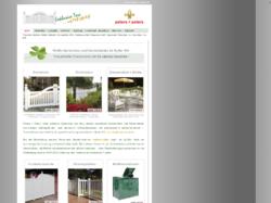 Exklusive Zäune - Gartenmöbel