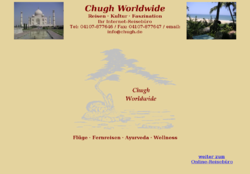 Chugh Worldwide Internet Reisebüro