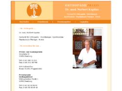 Dr. med. Norbert Kapitza Ortho