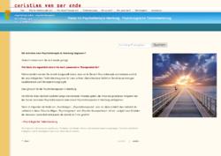 Praxis für Psychotherapie, Hamburg