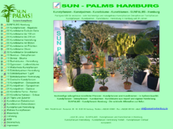 Sunpalms GmbH Hochwertige Kunstpflanzen Kunstblumen