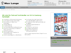 Fahrrad Max Lange