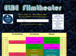 Elbe - Kino in Hamburg
