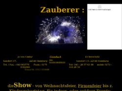 Zauberer-Show f. Stadtfest Weihnachtsfeier Betriebsfeier vom mystischen Zauberer, Fakir u. Magier
