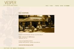 Restaurant Vespers