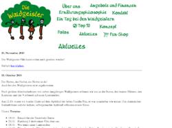 Die Waldgeister e.V. Waldkindergarten und Naturkindergarten